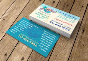 Just 4 Fun Business Card Mockup